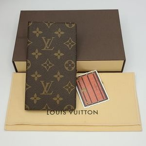 Louis Vuitton Monogram Check Book Bifold Wallet